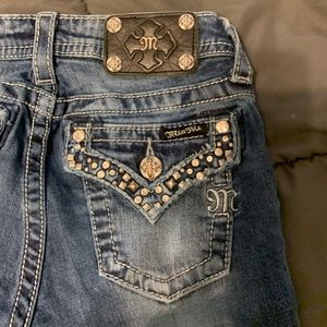 Girls Boot-Cut Miss-Me Jeans